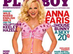 PHOTOS : Anna Faris, super sexy en couverture de Playboy !