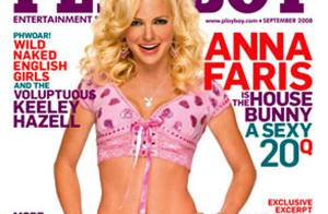 PHOTOS : Anna Faris, super sexy en couverture de Playboy !