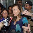 Valérie Trierweiler en Inde le 27 janvier 2014.