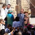 Exclusif : Mariage de Pauline Lefevre et Julien Ladesou (fils de Chantal Ladesou) en l'église Saint-Pierre de Toucy dans l'Yonne suivi d'une soirée au Moulin du Buisson à Sainte Colombe sur Loing Le 23/08/2013