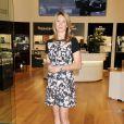 Steffi Graf lors de l'inauguration d'une boutique Hour Passion au Casino Aria de Las Vegas, le 30 janvier 2014