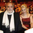 Maximilian Schell et sa bien-aimée Iva Milhanovic à l'opéra de Dresde le 15 janvier 2010