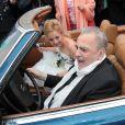Mariage de Maximilian Schell et Iva Mihanovic en Autriche à Kaernten le 20 août 2013
