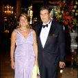 Michel Pastor et sa femme à Monaco le 2 septembre 2007.