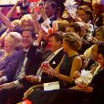 La famille royale en liesse autour de l'ancienne reine... La princesse Beatrix des Pays-Bas recevait le 1er février 2014 au Ahoy de Rotterdam un vibrant hommage en marque de gratitude pour ses 33 ans de règne, de 1980 à son abdication le 30 avril 2013 au profit de son fils Willem-Alexander.
