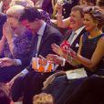 La princesse Beatrix a bien rigolé, entourée des siens ! La princesse Beatrix des Pays-Bas recevait le 1er février 2014 au Ahoy de Rotterdam, en présence de son héritier le roi Willem-Alexander et de la reine Maxima ainsi que de l'ensemble de la famille royale, un vibrant hommage en marque de gratitude pour ses 33 ans de règne, de 1980 à son abdication le 30 avril 2013 au profit de son fils Willem-Alexander.