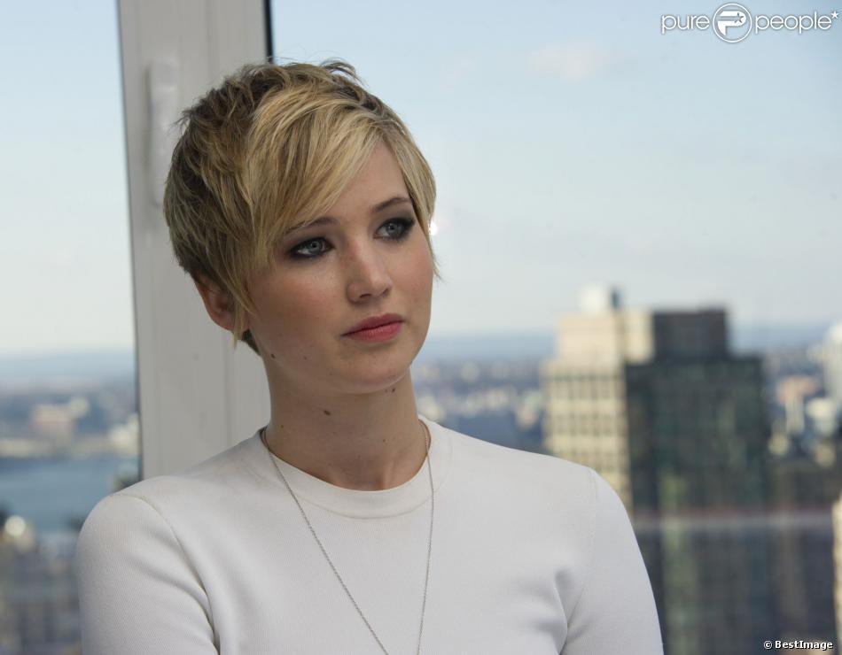 Jennifer Lawrence à New York, le 7 décembre 2013.