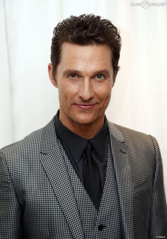 Matthew McConaughey à Londres le 29 janvier 2014.