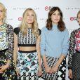 Taylor Schilling, Dree Hemingway, Alexa Chung, Diane Kruger posent à la soirée Peter Pilotto x Target à New York le 6 février 2014
