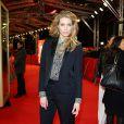"""Marie de Villepin lors de la première du film """"Yves Saint Laurent"""" lors du 64eme Festival International du Film de Berlin, le 7 février 2014."""