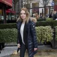 Sara Forestier au déjeuner des nommés aux César au Fouquet's à Paris, le 8 février 2014.