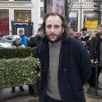 Vincent Macaigne au déjeuner des nommés aux César au Fouquet's à Paris, le 8 février 2014.
