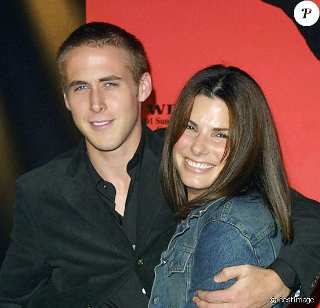Ryan Gosling et Sandra Bullock le 7 septembre 2001.