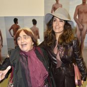 Salma Hayek rend hommage à l'artiste Agnès Varda