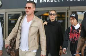 Brad Pitt et Angelina Jolie : Parents fiers avec Maddox, de retour à Los Angeles