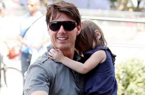 PHOTOS : Tom Cruise, un vrai papa poule...