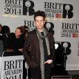 """Nick Grimshaw - Soirée des """"Brit Awards 2014"""" en partenariat avec MasterCard à Londres, le 19 février 2014."""