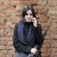 Courteney Cox à Venise en Italie, le 20 février 2014.