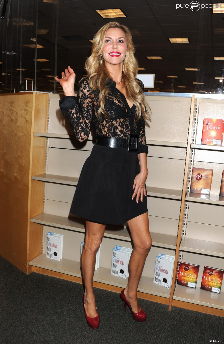 """... Signs Copies Of Her Book """"Drinking And Dating"""" 