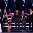 Les coachs lors des battles dans The Voice 3, le samedi 22 février 2014 sur TF1