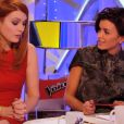 Élodie Frégé vient aider Jenifer dans The Voice 3, le samedi 22 février 2014 sur TF1