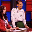 Battle de Caroline Savoie et Melissa Bon dans The Voice 3, le samedi 22 février 2014 sur TF1