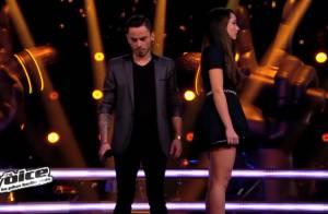 The Voice 3 - Garou ému aux larmes par la battle de Maximilien et Noémie !