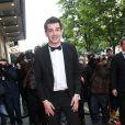 """Mathieu Johann à la 4e édition du """"Global Gift Gala"""", au George V à Paris le 13 mai 2013."""