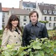 Exclusif -Thomas Dutronc et Nolwenn Leroy (parrain et marraine) - Fête des Vendanges de Montmartre 2013 (80e anniversaire) à Paris, le 12 octobre 2013.