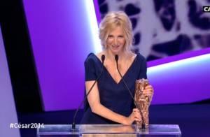 César 2014 : Sandrine Kiberlain, meilleure actrice, dédie son prix à sa fille