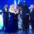Steve McQueen ivre de joie pour 12 Years A Slave, meilleur film aux Oscars 2014.