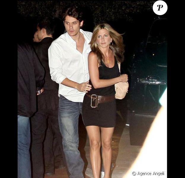 Jennifer Aniston avec John Mayer