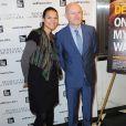 """Isabelle Giordano (directrice générale d'UniFrance), Jean-Paul Salomé (président d'UniFrance) lors de la présentation du film """"On my way"""" (Elle s'en va) à New York le 6 mars 2014, dans le cadre du Rendez-vous with French Cinema avec UniFrance"""