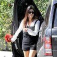 Kourtney Kardashian à Woodland Hills, Los Angeles, le 9 mars 2014.