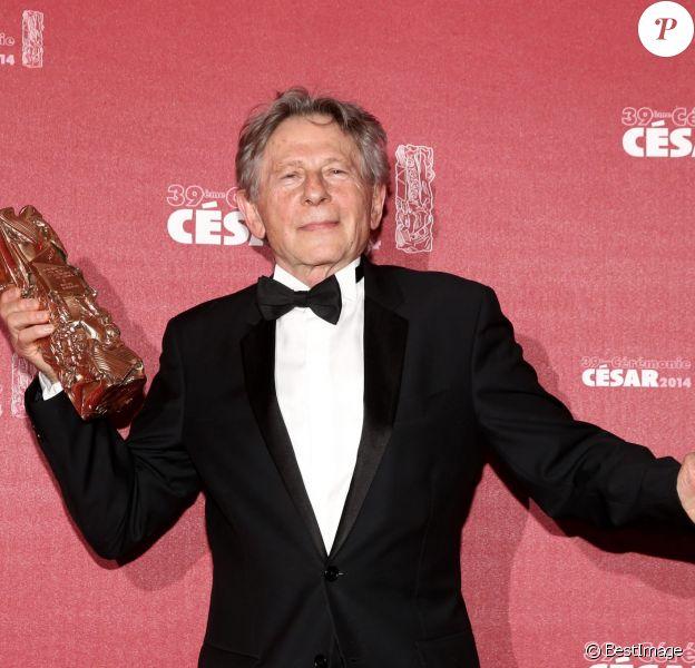 Roman Polanski lors des César 2014