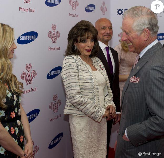 Carly Williams a été récompensée par le prince Charles sous les yeux de Joan Collins, Ben Kingsley ou encore Pixie Lott à la soirée Prince's Trust Awards à Londres le 12 mars 2014.