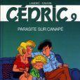 """La bande-dessinée Cédric """"Parasite sur canapé"""""""
