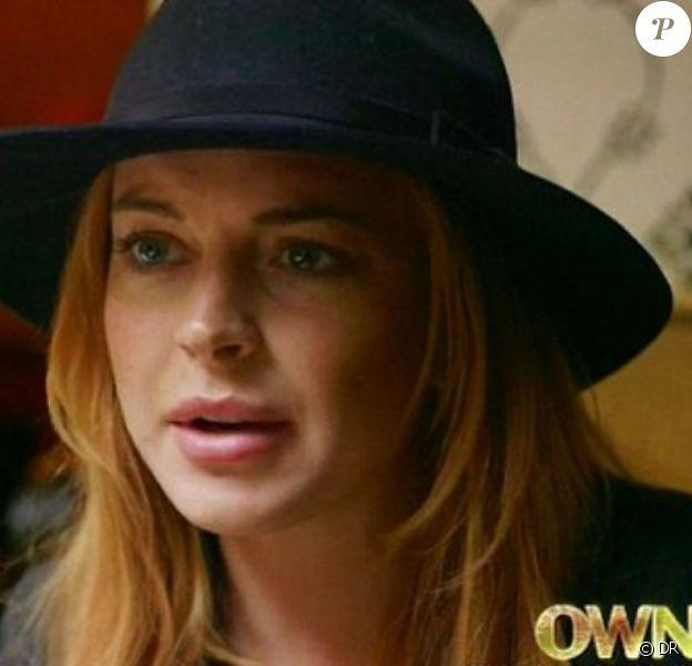 Lindsay Lohan affronte son père Michael, pour son documentaire sur OWN. Mars 2014.