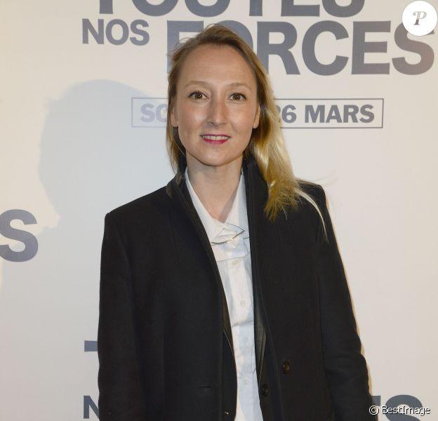 """Audrey Lamy lors de l'avant-première du film """"De Toutes Nos Forces"""" au Gaumont Opéra à Paris, le 17 mars 2014"""