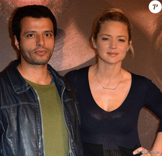 Virginie Efira et Mabrouk El Mechri lors de l'avant-première du film Situation amoureuse : C'est compliqué à Paris, le 17 mars 2014