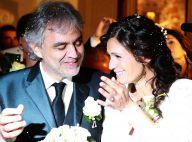 Andrea Bocelli et Veronica : Mariés émus devant Virginia, 2 ans, Amos et Matteo