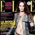 Vanessa Paradis en couverture du magazine Elle de janvier 2011, édition française.