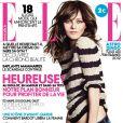 Vanessa Paradis en couverture du magazine Elle du 6 janvier 2012