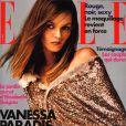 Vanessa Paradis en couverture du magazine Elle du 20 octobre 2000