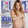 Vanessa Paradis en couverture du magazine ELLE du 26 février 2010