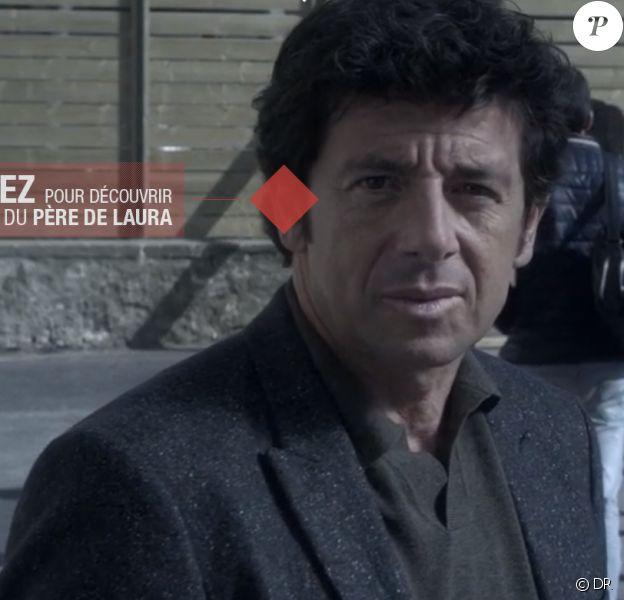 Patrick Bruel dans le clip interactif de Maux d'enfants, de Patrick Bruel et La Fouine