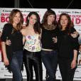 Elodie Fontan, Frédérique Bel, Emilie Caen et Julia Piaton lors de l'avant-première du film Qu'est-ce qu'on a fait au Bon Dieu ? à Paris le 27 mars 2014