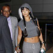 Rihanna : Ventre à l'air et Drake absent pour son retour à L.A.