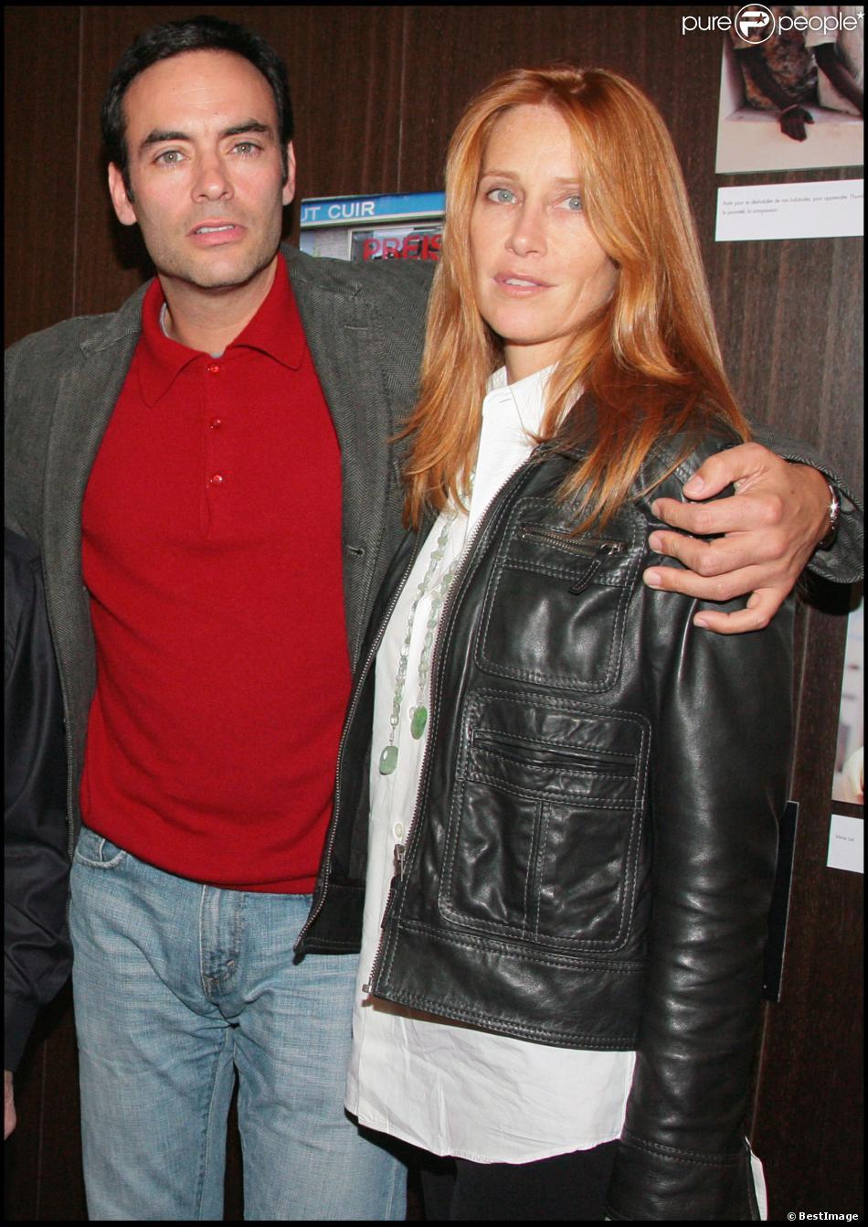 Exclusif anthony delon et sa femme sophie au concert de charles aznavour le 18 octobre 2007 - Sophie jovillard et sa compagne ...