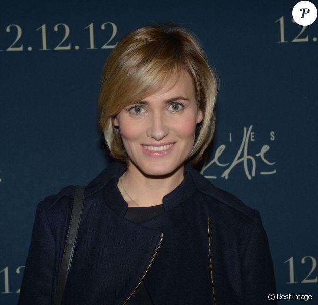 Judith Godreche lors de la soirée Galeries Lafayette à Paris, le 12 décembre 2012